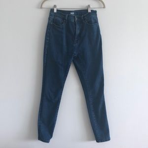High-Rise Longline Jeans